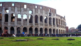 Colosseum Roma Italia almacen de video
