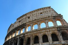 Colosseum Roma Italia Stock Image