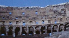 Colosseum, Roma, Italia (los años 60 archivales) almacen de metraje de vídeo