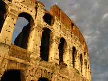 Colosseum of Roma in Italy. Detail from Coliseum of Roma in Italy Stock Image