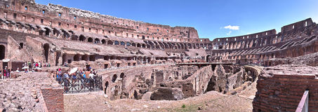 Colosseum roma italy inside view Royalty Free Stock Image