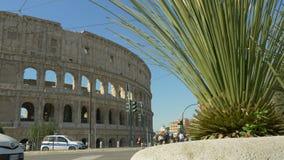 Colosseum, Roma, Lazio Italia, almacen de metraje de vídeo