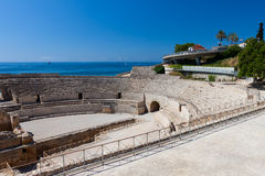 Colosseum romain de Tarragona Photographie stock libre de droits