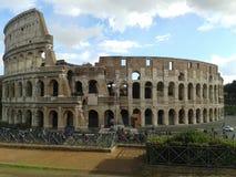 Colosseum Colosseum, Roman Forum, båge av Constantine, gränsmärke, forntida roman arkitektur, forntida rome, historisk plats Arkivbilder