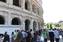 colosseum roman rome Royaltyfria Foton