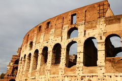 Colosseum. Roman Colosseum in Rome, Italy Stock Images