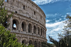 Colosseum romano Fotografie Stock Libere da Diritti