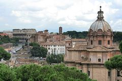 Colosseum in Rome royalty-vrije stock afbeeldingen