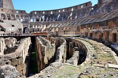 Colosseum in Rome stock afbeelding