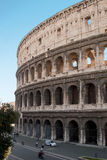 The Colosseum in Rome. The Colosseum is the most famous Roman monument. In antiquity it was a great arena for fights between gladiators. It is considered a Royalty Free Stock Images