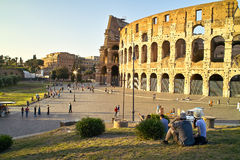 Colosseum - Rome Royalty-vrije Stock Afbeeldingen
