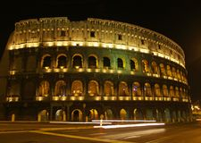 Colosseum in Rome royalty free stock photos