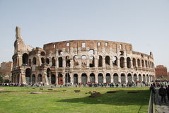 Colosseum Rome. The Colosseum in Rome, Italy royalty free stock photography