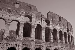 Colosseum in Rome Royalty Free Stock Photography