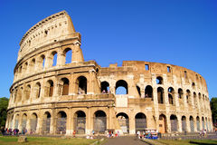 The Colosseum of Rome. The iconic ancient Colosseum of Rome stock photos