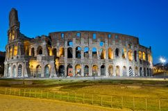 Colosseum, Rome. Beautiful night image of the eternal city Royalty Free Stock Photos