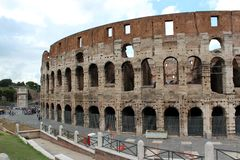 Colosseum, Rome. Royalty Free Stock Photo