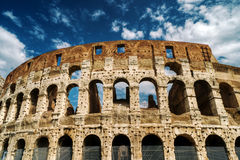 Colosseum in Rome. Ruins of Colosseum in Rome, Italy Royalty Free Stock Image