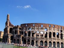 Colosseum at Rome Stock Photos