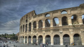 Colosseum Rome stock footage