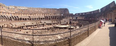 Colosseum. The colosseum in Rome Royalty Free Stock Photography