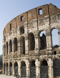 Colosseum in Rome. The Colosseum structure in Rome stock photography