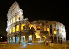 Colosseum Rome. The Colosseum Rome at night stock image