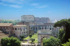 Colosseum in Rome Royalty-vrije Stock Foto's