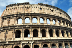 Colosseum, Rome. Ancient Colosseum in Rome, Itlay Royalty Free Stock Images