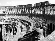 Colosseum Rome. The inside of the Ancient Colosseum in Rome, Italy Stock Image
