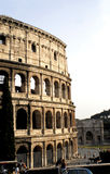 The Colosseum, Rome. The mighty Colosseum in Rome Royalty Free Stock Images