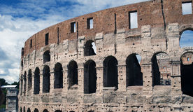 Colosseum in Rome. The ancient colosseum in rome, italy Royalty Free Stock Photo