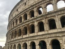 Colosseum in Rome, Italy. royalty free stock images