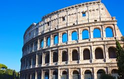 Colosseum in Rome Stock Image