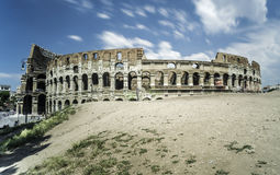 The Colosseum in Rome Stock Photography