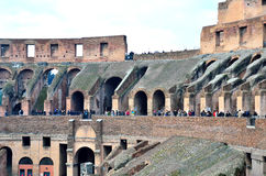 The Colosseum in Rome Royalty Free Stock Photo