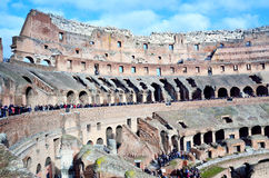 The Colosseum in Rome Stock Image