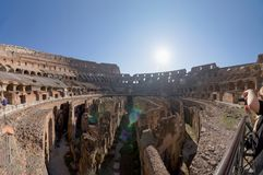 The Colosseum in Rome. Italy Stock Images