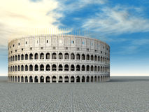 Colosseum in Rome royalty free illustration