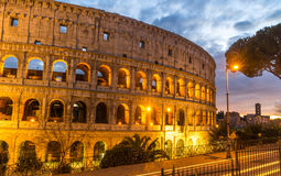 Colosseum of Rome Royalty Free Stock Photography