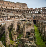 The Colosseum in Rome. Flavian Amphitheatre, Italy Royalty Free Stock Images