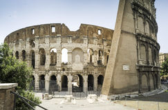 The Colosseum in Rome Royalty Free Stock Photos