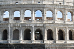 Colosseum in Rome. Frontal view Stock Images