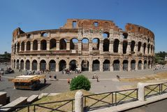 Colosseum Rome, Colosseum, Colosseum, gränsmärke, plaza, forntida rome, himmel Royaltyfri Bild