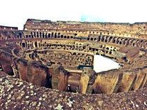 Colosseum Rome inre Arkivbild
