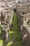 Colosseum rome interior detail Royalty Free Stock Photo