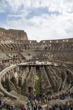 Colosseum Rome interior Stock Image