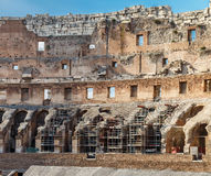The Colosseum in Rome, interior view Stock Photos