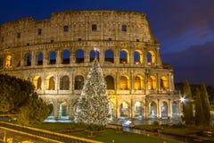 Colosseum, Rome, Italië royalty-vrije stock afbeelding