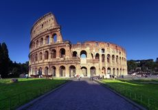 Colosseum in Rome, Italië Royalty-vrije Stock Afbeeldingen